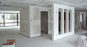 Gypsum Partition Glass Partiotion Dubai
